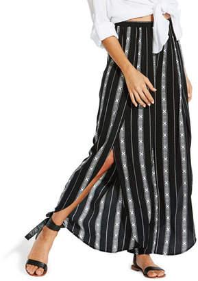 Seafolly Lattice Stripe Split-Leg Coverup Pants