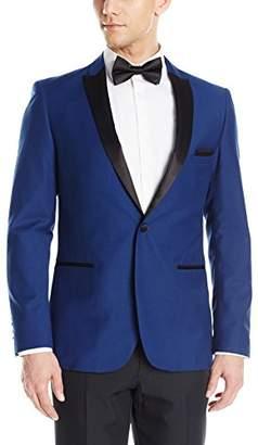 Paisley & Gray Men's Slim Fit Peak Lapel Tux Dinner Jacket