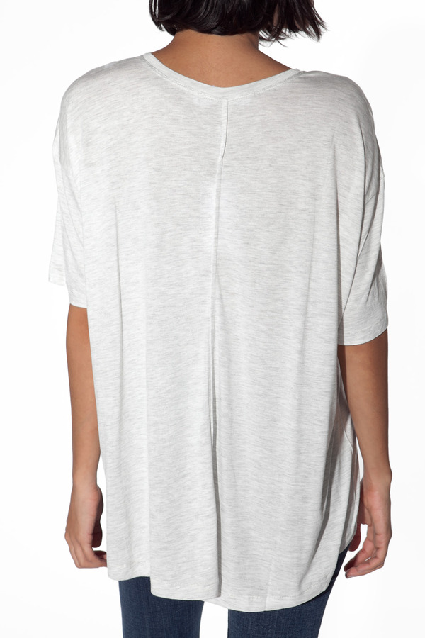 Derek Lam 10 CROSBY Boxy Center Tee