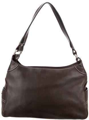 CelineCéline Leather Shoulder Bag