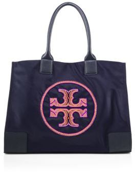 Tory Burch Tory Burch Ella Beaded Nylon Tote