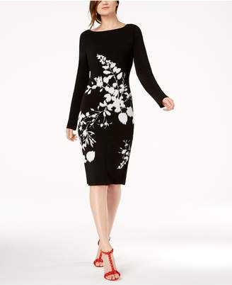 INC International Concepts I.n.c. Floral-Print Sheath Dress, Created for Macy's