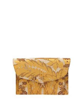 Hayward Bobby Venetian Silk Jacquard Clutch Bag