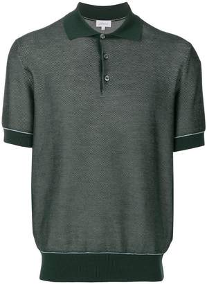 Brioni piquet polo shirt