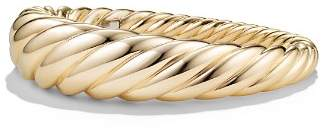 David Yurman Pure Form Cable Bracelet in 18K Gold