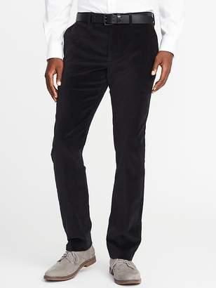 Old Navy Slim Signature Built-In Flex Velvet Pants for Men
