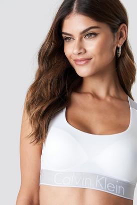 a4bb47b6a4 Calvin Klein Customized Stretch Bralette White