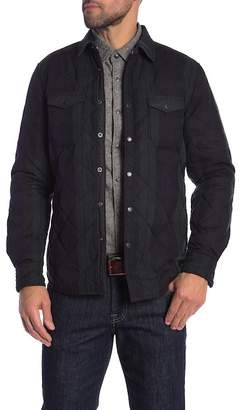 Jeremiah Wooster Quilted Plaid Shirt Jacket