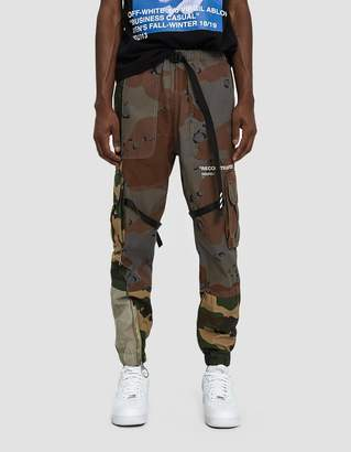 Off-White Off White Reconstructed Cargo Pant