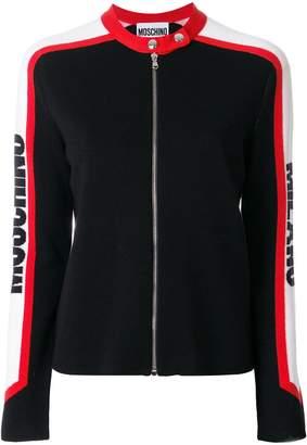 Moschino biker cardigan