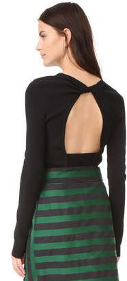 Rochas Long Sleeve Sweater $690 thestylecure.com