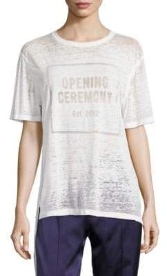Opening Ceremony Logo Burnout Tee