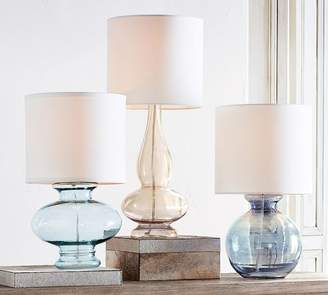 Pottery Barn Aubrey Curvy Lamp