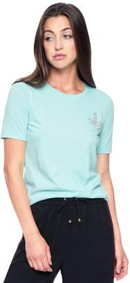 Juicy Couture Encrusted JC Relaxed Crew Tee
