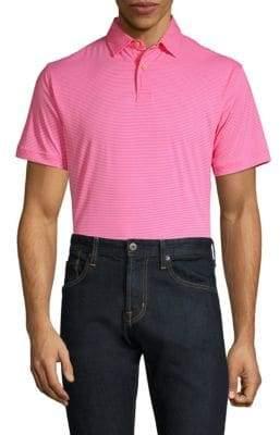 Peter Millar Featherweight Stripe Polo Shirt