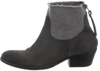 Zadig & Voltaire Suede Ankle Boots $125 thestylecure.com