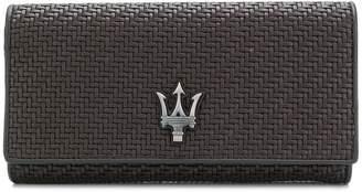 Ermenegildo Zegna Pelle Tessuta Maserati glasses case