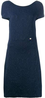 Chanel Pre-Owned 2010's textured knitted dress