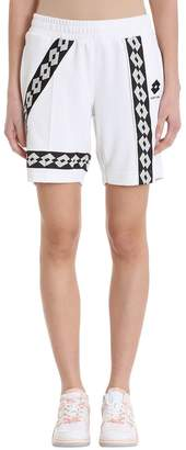 Damir Doma Wi Paris Shorts X Lotto In White Viscose