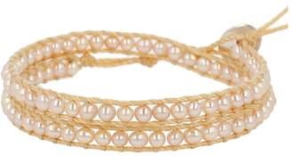 Chan Luu White Pearl Bracelet