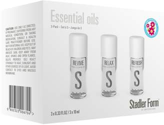 Stadler Form 3-Pack Essential Oil Set for Aroma Diffusers