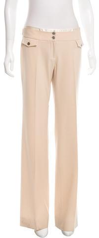 Dolce & GabbanaDolce & Gabbana Mid-Rise Wide-Leg Pants