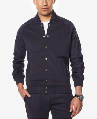 Sean John Men's Neoprene Suede Jacket, Created for Macy's