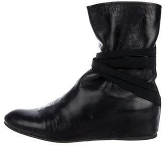 Stuart Weitzman Zen Wedge Boots