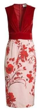 Sachin + Babi Amalia Pieced Sheath Dress