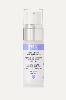 Ren Skincare Instant Brightening Beauty Shot Eye Lift, 15ml - one size