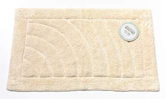Carnation Home Fashions One Sided 100-Percent Cotton Bath Mat