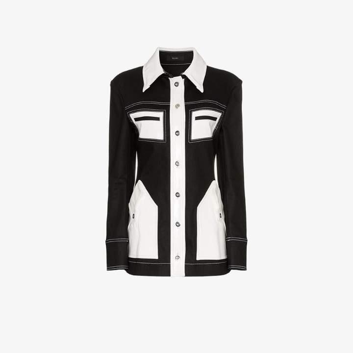 Spector contrast denim jacket