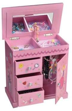 Mele Krista Girl's Musical Ballerina Jewelry Box