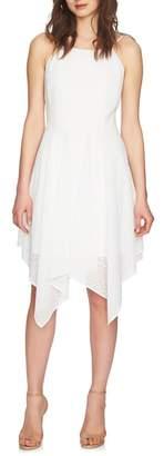 CeCe Reese Handkerchief Hem Dress