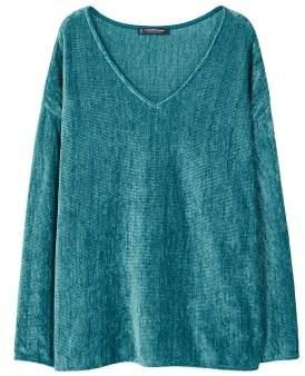 Violeta BY MANGO Chenille sweatshirt