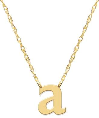 JANE BASCH DESIGNS Lowercase Initial Pendant Necklace