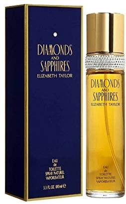 Elizabeth Taylor Diamonds & Sapphires By For Women, Eau De Toilette Spray, 3.3-Ounce