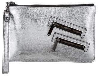 Rebecca Minkoff Metallic Leather Wristlet