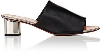 Robert Clergerie Women's Lato Leather Slide Sandals $495 thestylecure.com