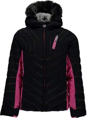Spyder Hottie Faux Fur Hooded Jacket - Girls'