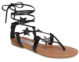 Women's Steve Madden Jupiter Lace Up Sandal $59.95 thestylecure.com