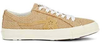 Converse Men's GOLF le FLEUR One Star Jute Sneakers - Beige, Tan
