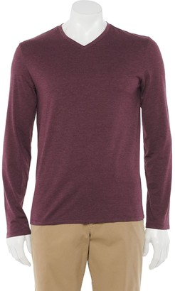 Apt. 9 Men's Premier Flex Solid V-neck Tee
