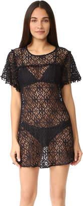 PilyQ Pom Pom Dress $154 thestylecure.com