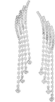 Ten79LA Crystal Fringe Earrings