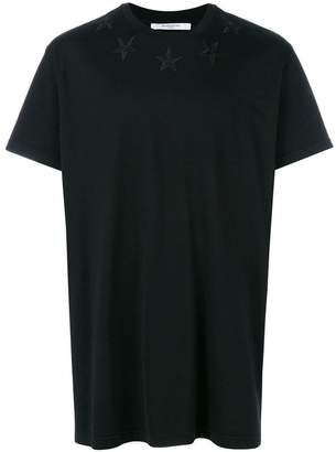 Givenchy embroidered star oversized T-shirt