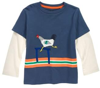 Boden Mini Active Animals Layered T-Shirt
