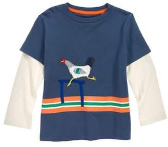 Boden Mini Active Animals Layered T-Shirt