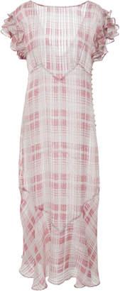 LoveShackFancy Sloane Silk Dress