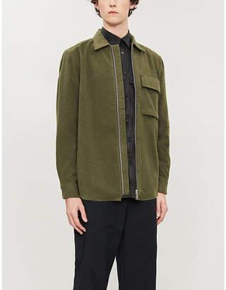 Carhartt Wip Oscar brushed-texture woven shirt